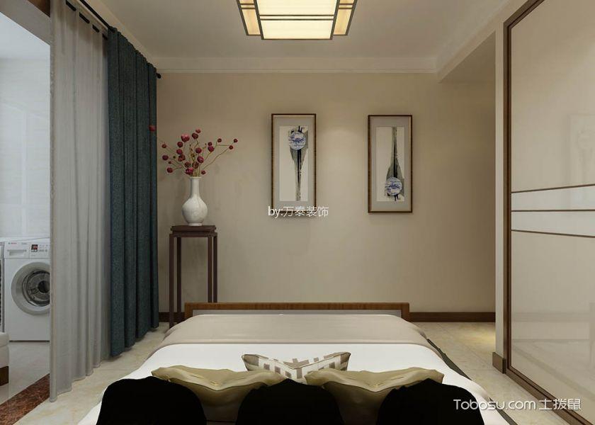 儿童房白色榻榻米中式风格装修设计图片