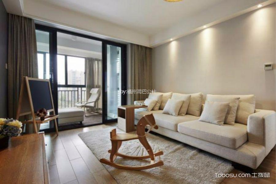 华庆花园70平日式风格两室两天装修效果图