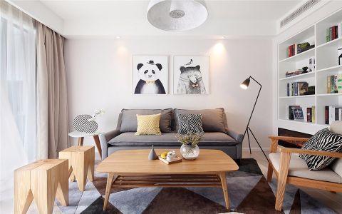 金地自在城一期140平简欧四室两厅两卫小户型装修效果图