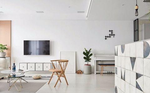客厅橱柜简欧风格装饰效果图