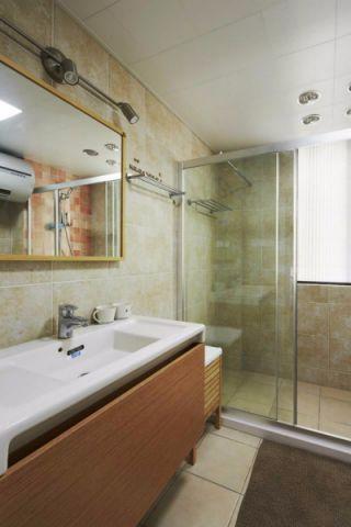 卫生间细节日式风格装饰效果图