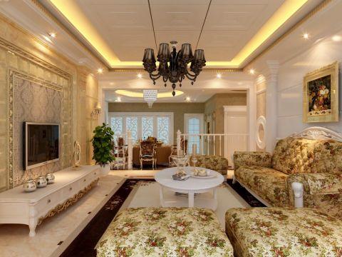 167平米欧式风格四居室装修效果图