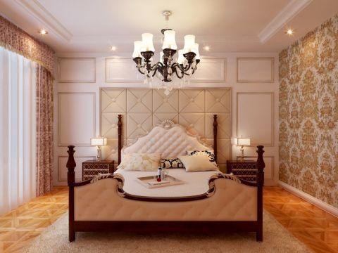 卧室细节欧式风格装潢设计图片
