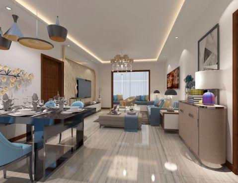 客厅细节现代风格装潢效果图