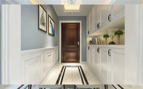 玄关橱柜美式风格装修图片