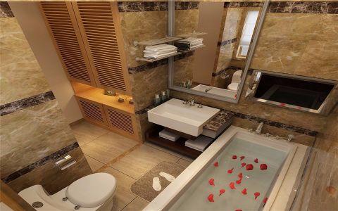 卫生间细节日式风格装修设计图片