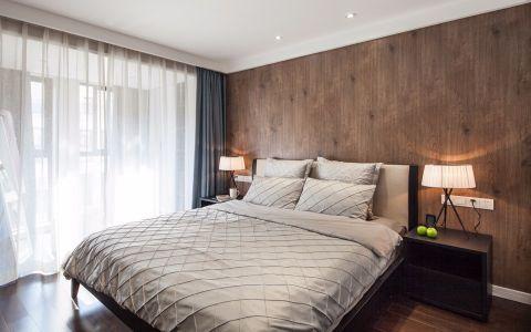 卧室窗帘北欧风格装饰设计图片