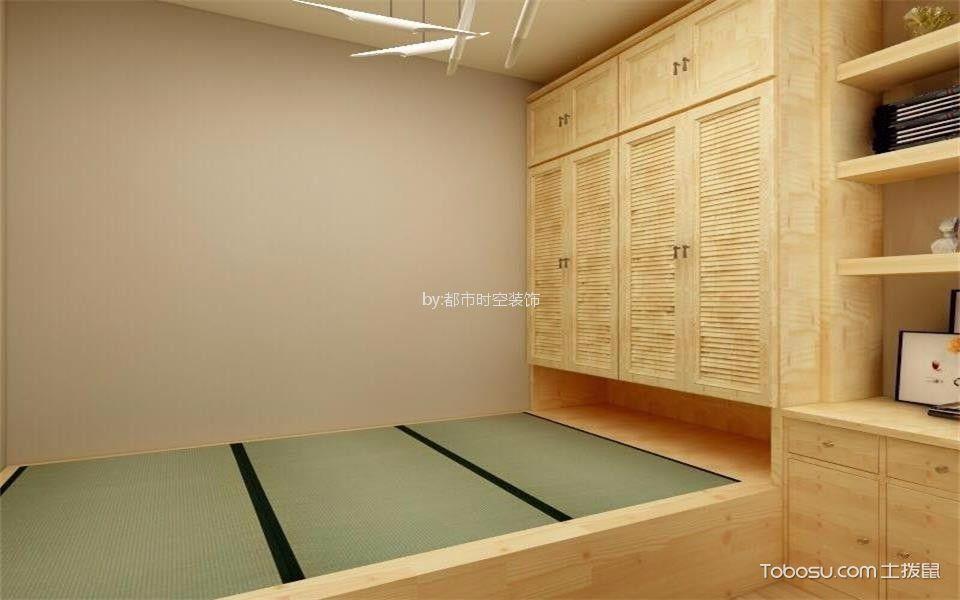 金色豪庭99平米现代简约两居室装修案例效果图