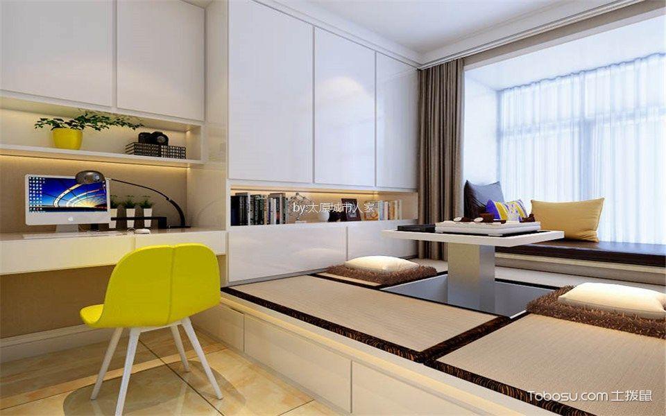 双喜城120平米现代简约设计风格装修效果图