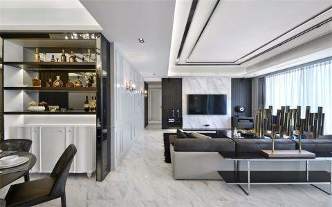 客厅橱柜现代简约风格效果图