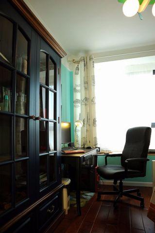 书房细节地中海风格装饰设计图片