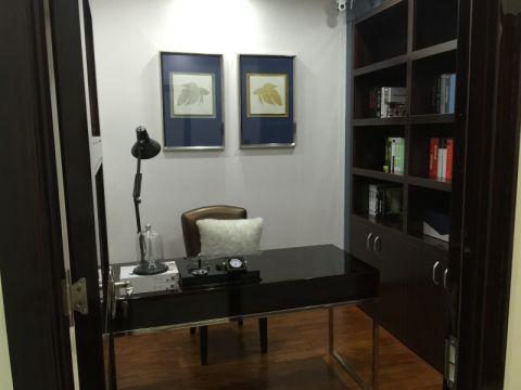 书房书桌现代风格装修设计图片
