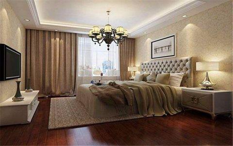 卧室飘窗新古典风格装修设计图片