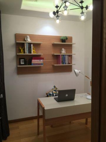 书房橱柜北欧风格装潢设计图片