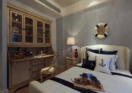 卧室细节地中海风格装饰图片