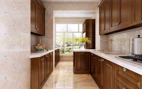 厨房橱柜欧式风格装潢图片