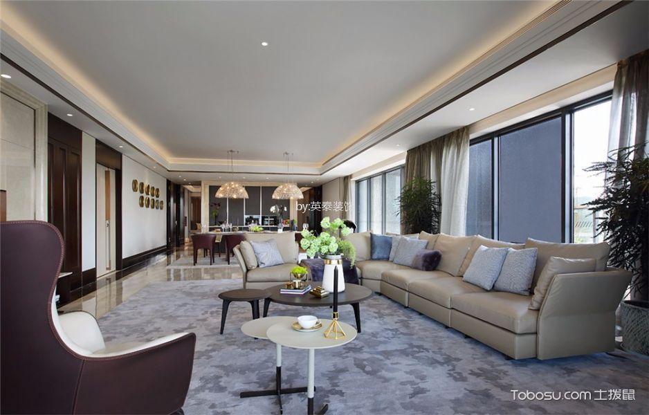 高知公寓160平四房现代风格装修效果图