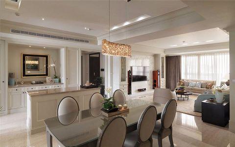 宜化星都汇92平美式风格两居室装修效果图