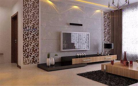 华润紫云府110平米韩式风格四居室装修效果图