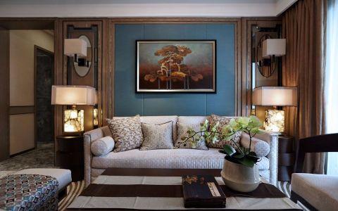 星河国际102平东南亚风格三居室装修效果图