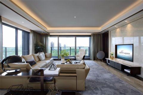 客厅走廊现代简约风格装修效果图