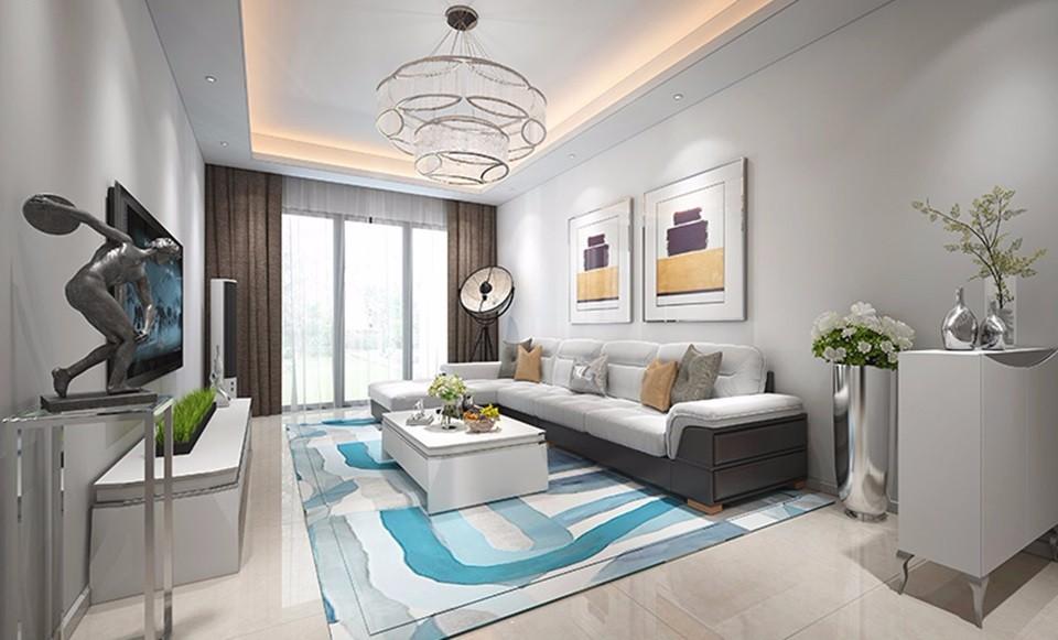 3室2卫2厅107平米简约风格