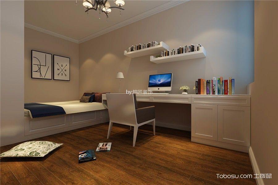 卧室白色榻榻米现代简约风格装饰设计图片
