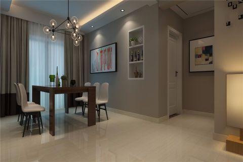 琼林苑110平米现代简约三居室装修效果图