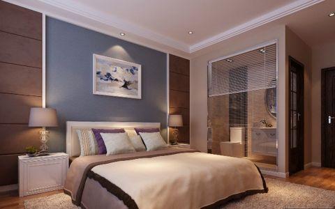卧室隐形门现代风格装饰图片