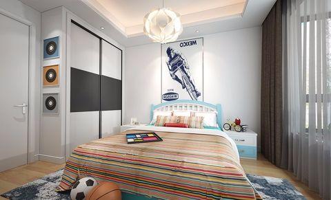 儿童房窗帘简约风格装潢设计图片