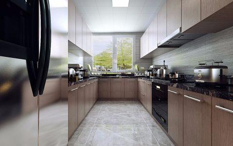 厨房窗帘现代简约风格装饰图片