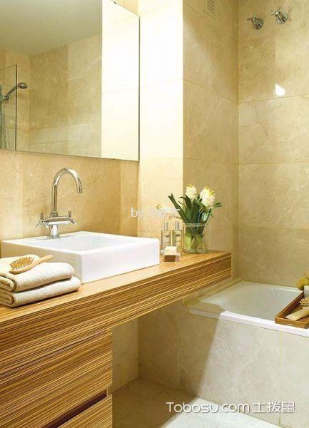 卫生间白色隔断现代简约风格装潢设计图片