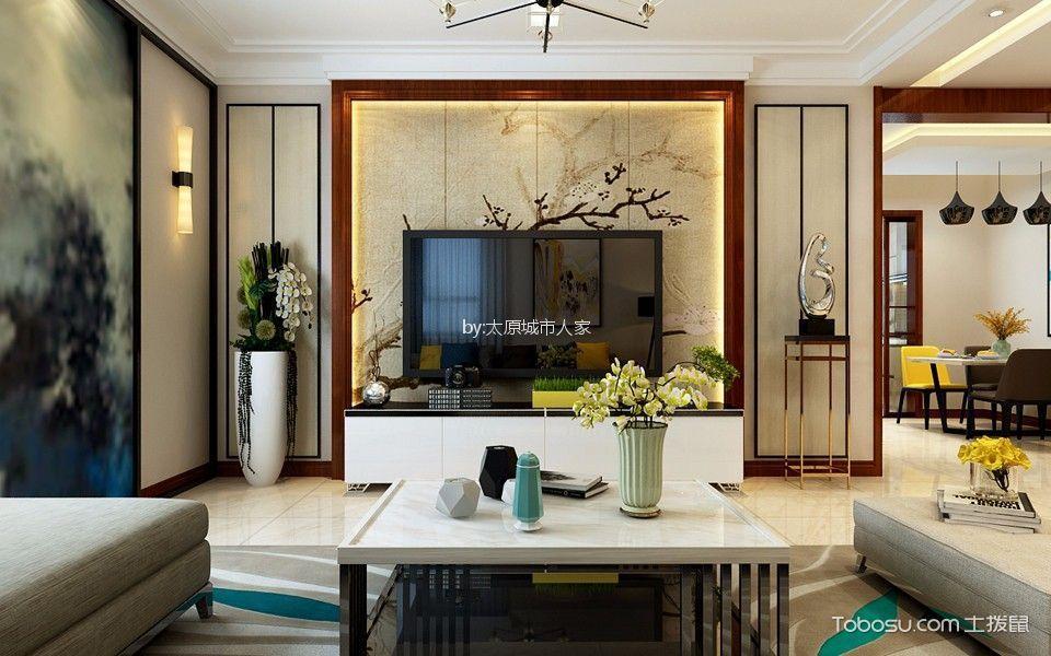 华洲国际140平米简约风格设计风格效果图
