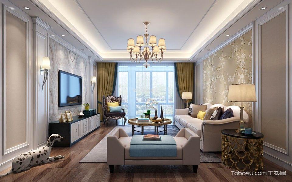 怀仁东苑170平米混搭两居室装修效果图