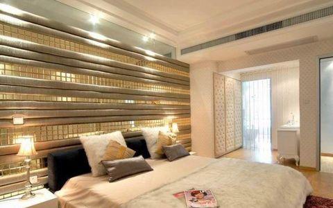 卧室白色细节现代简约风格装修设计图片