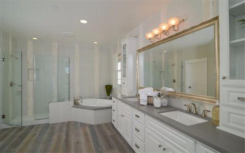 卫生间背景墙美式风格效果图