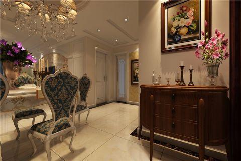 客厅门厅简欧风格装饰效果图