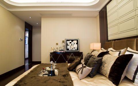 卧室隔断简欧风格装潢图片