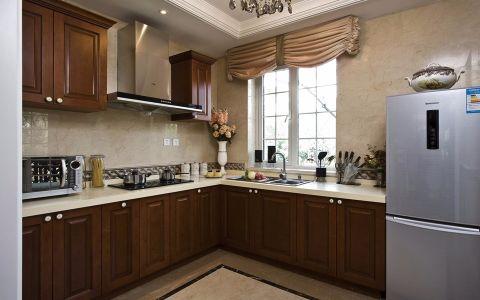 厨房橱柜欧式风格装潢设计图片