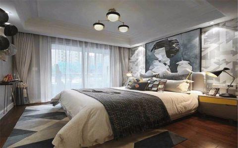 卧室窗帘法式风格装修图片