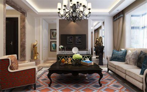 玉泉龙苑150平米美式设计风格装修效果图
