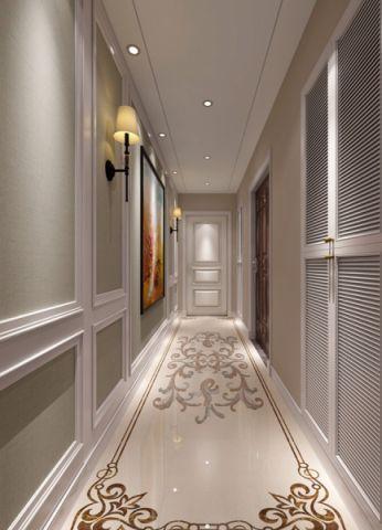 玄关走廊简欧风格装潢图片
