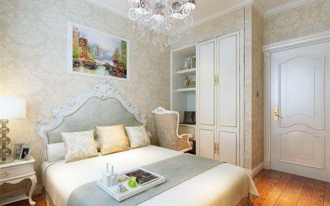 卧室照片墙简欧风格装修设计图片