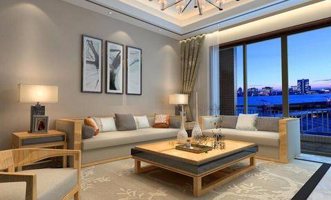 白金汉宫143平古韵淳香现代中式风格三居室装修效果图