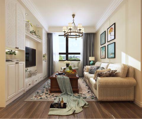120平简约风格三居室装修效果图