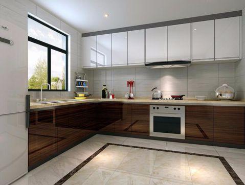 厨房橱柜现代简约风格装饰效果图