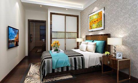卧室细节现代简约风格装潢效果图