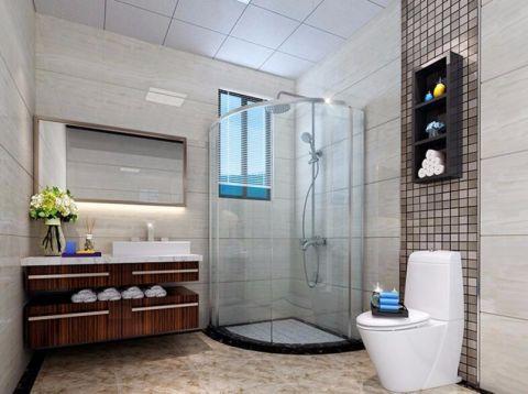 卫生间细节现代简约风格装修设计图片