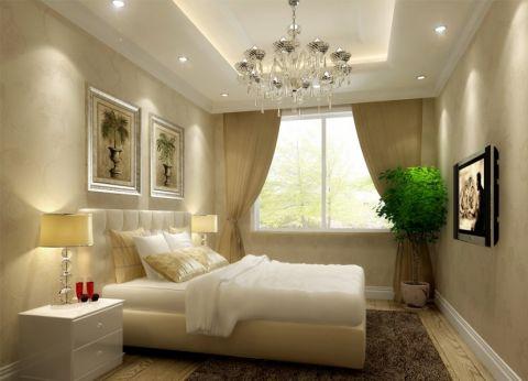 卧室吊顶新古典风格效果图