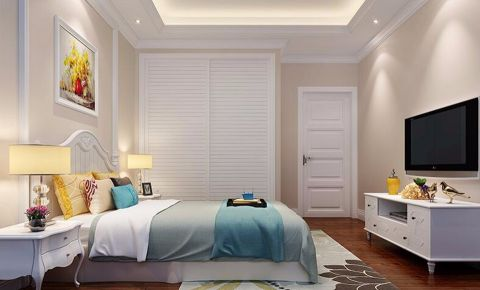 卧室走廊简欧风格装修效果图
